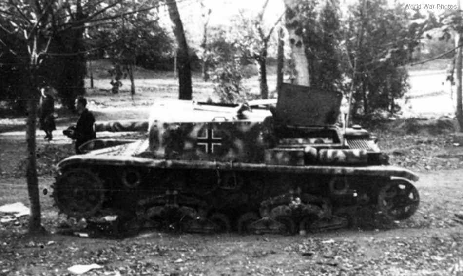 Abandoned StuG 42 Yugoslavia