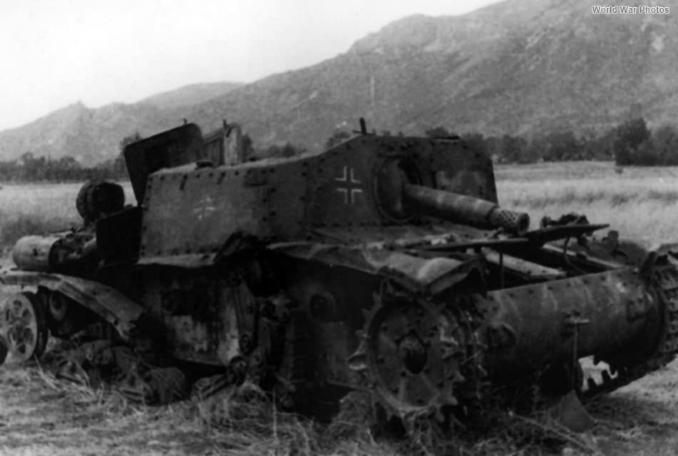 Destroyed StuG M 42