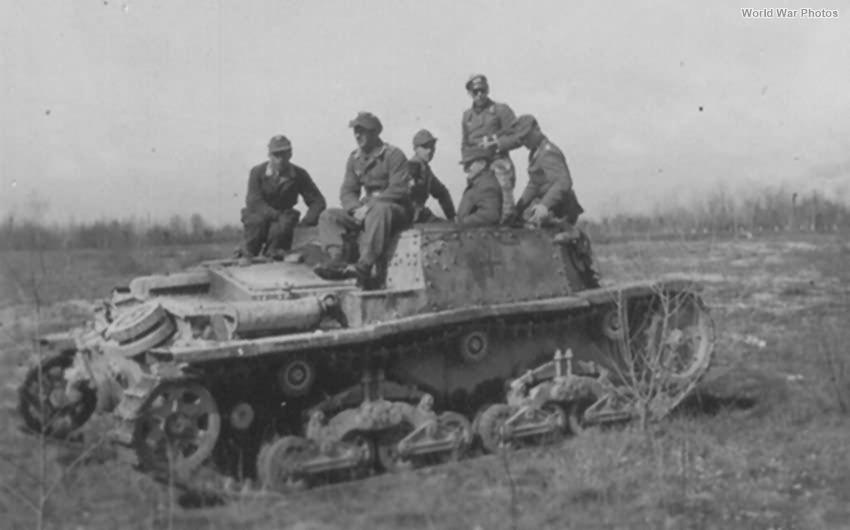 German Carro comando M 41