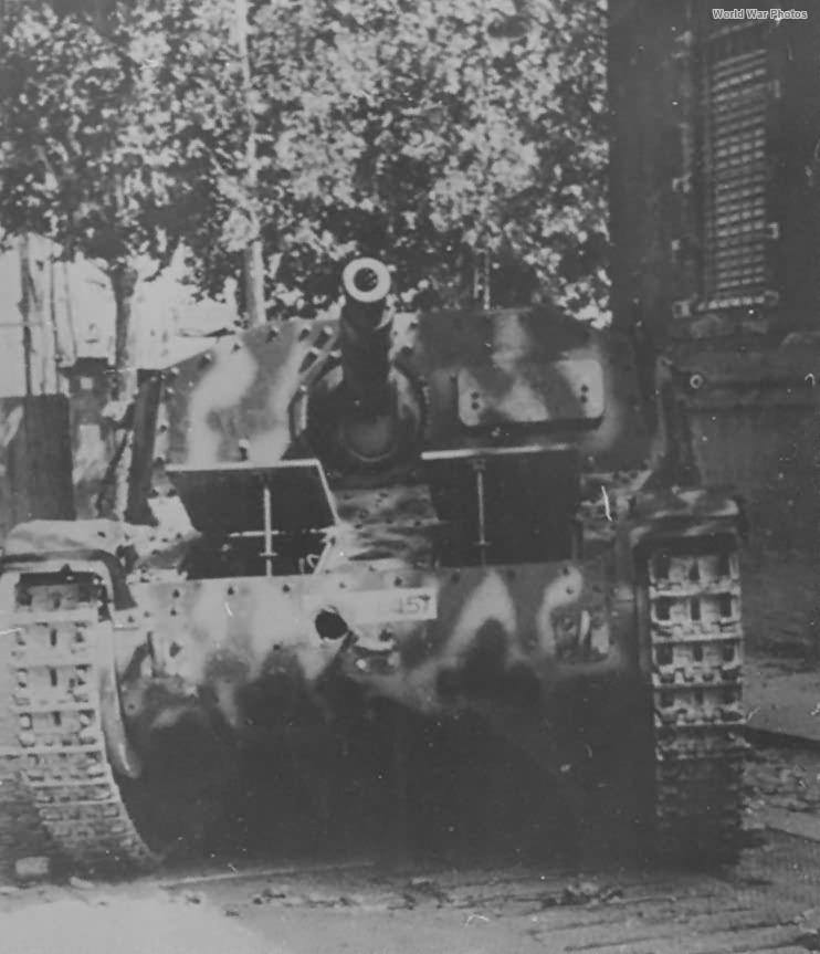 Semovente da 75/18 September 1943 Rome