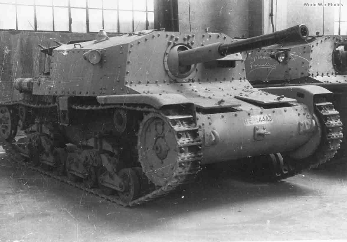 Prototype Semovente da 75/32 RE4443