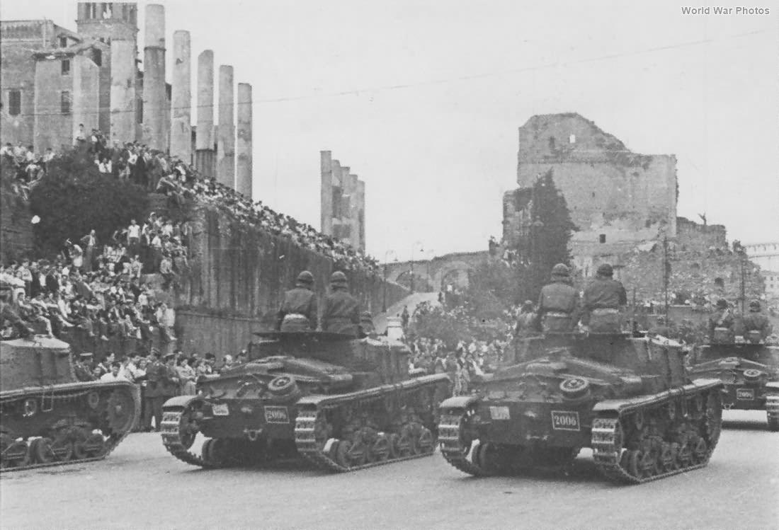 Semovente M41 da 75/18 military parade in Rome 3
