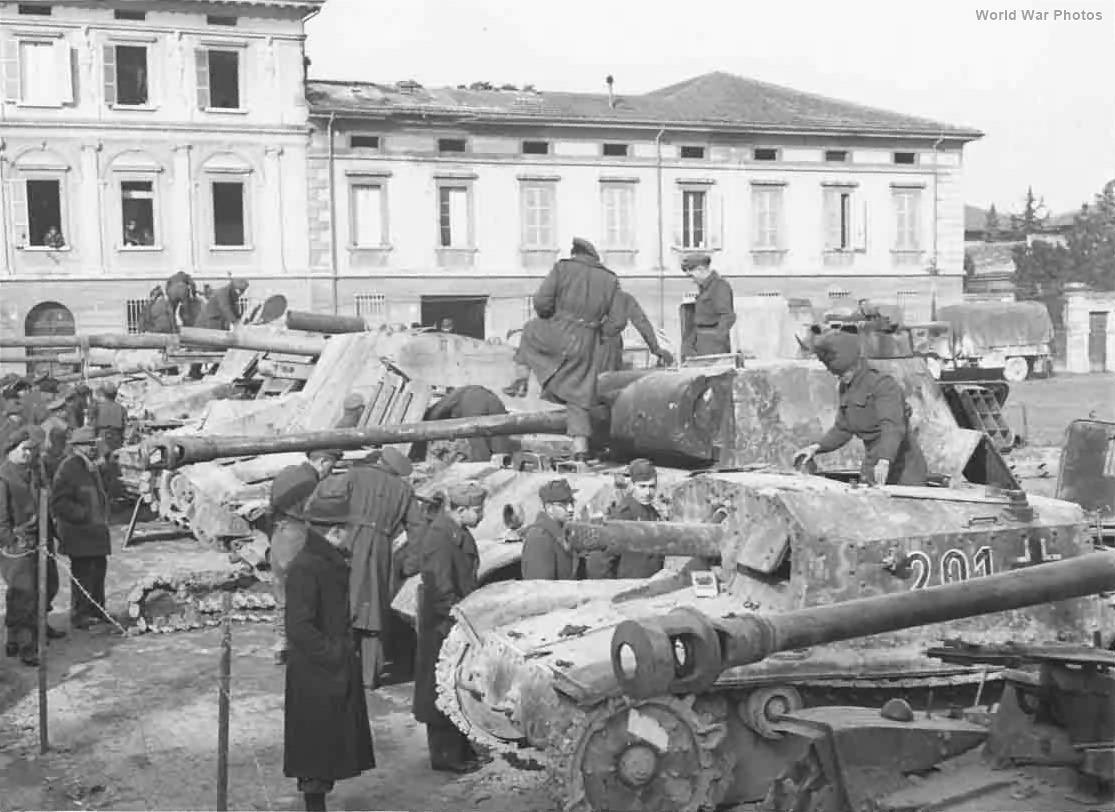 Captured StuG 42 201