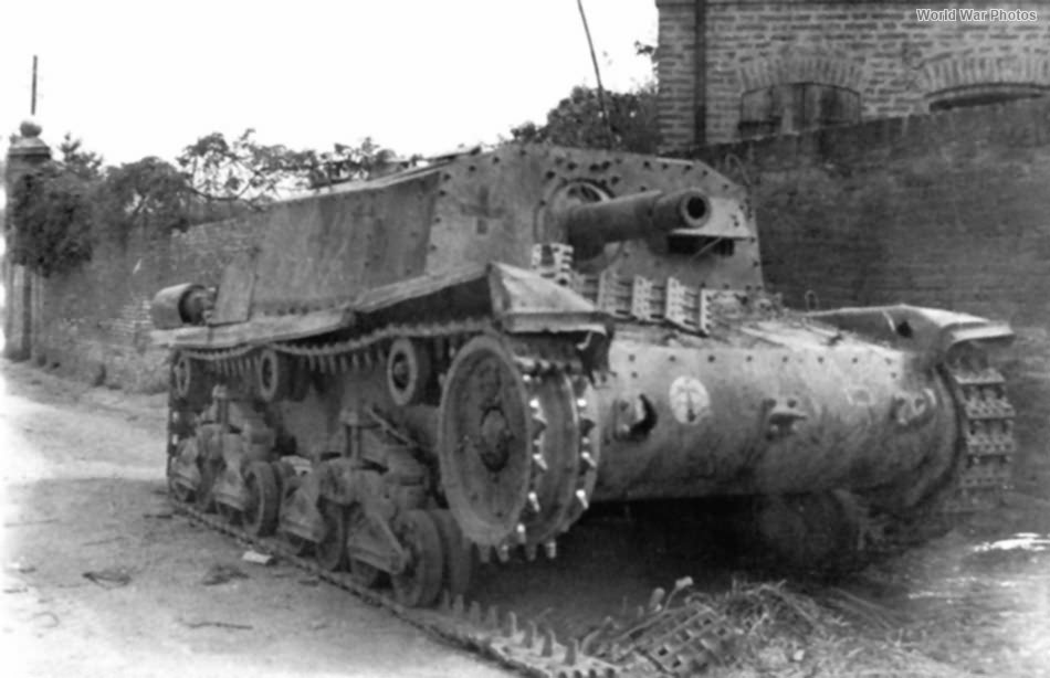 Destroyed StuG M42 75/18 4