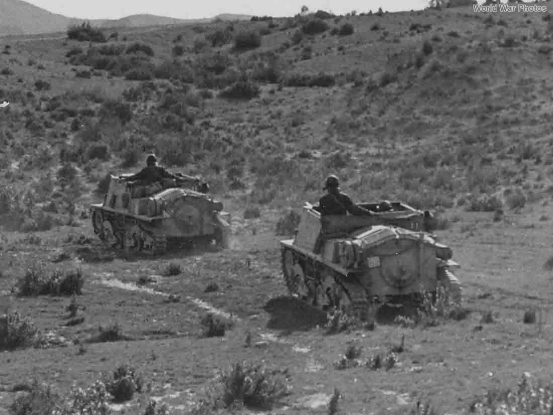 Semovente L40 da 47/32 Africa Tunisia