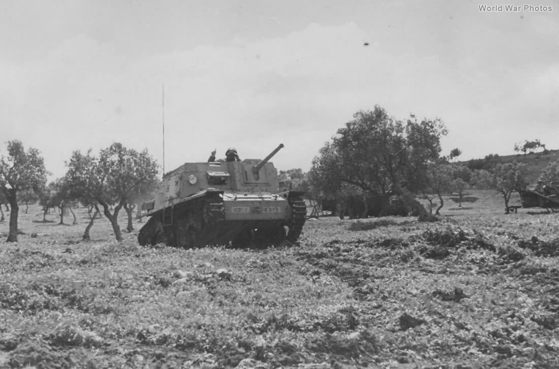 Semovente L40 da 47/32 Tunisia 1943