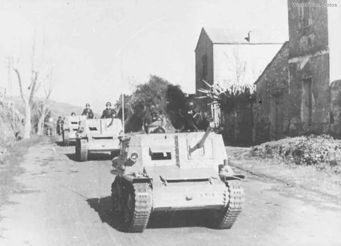 Semovente L40 da 47/32 guns Corsica 1943