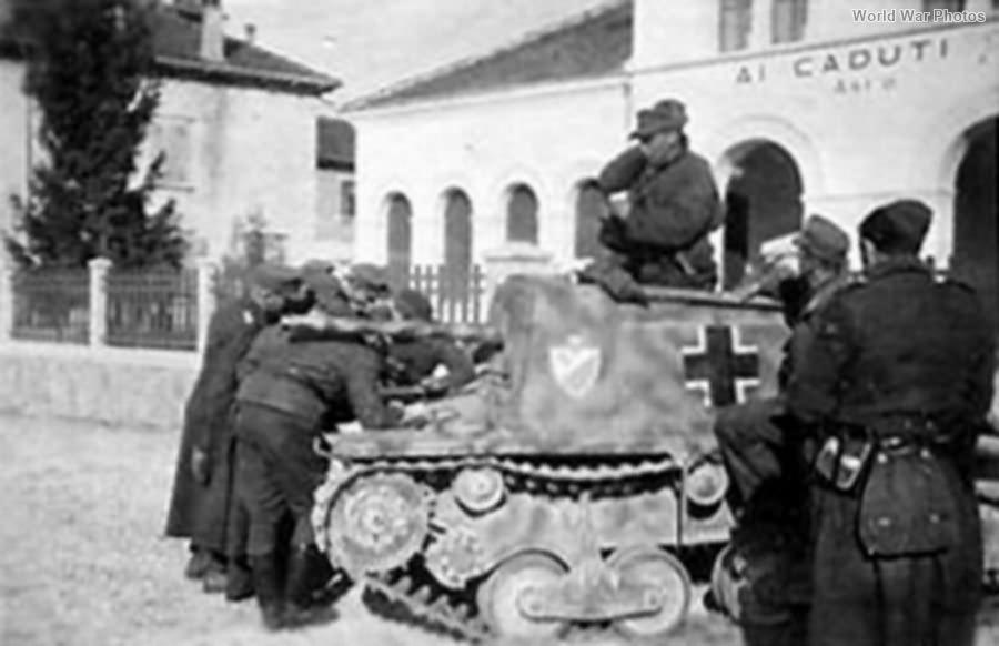 German StuG L6 of Flak Erdkampfschule Sued 1944