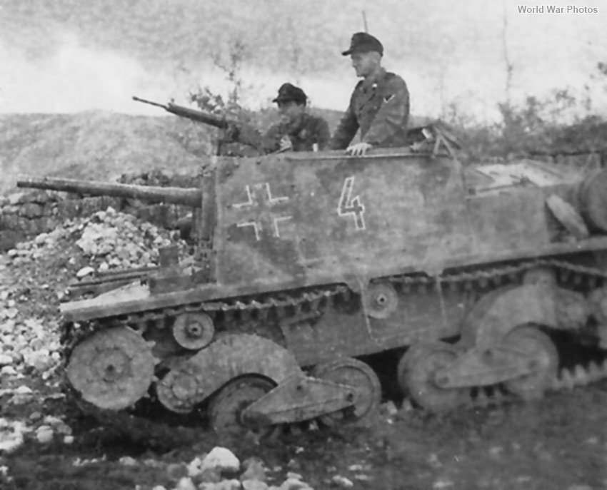 StuG L6 Croatia 1944