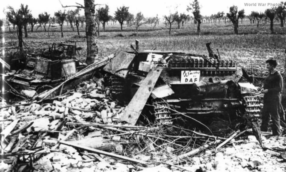 StuG L6 prime mover of 26. Panzer Division Italy 1945