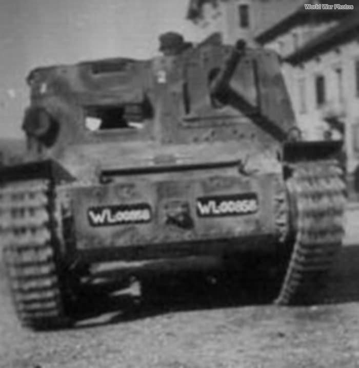 StuG L6 of the sFlakAbt 603 Italy
