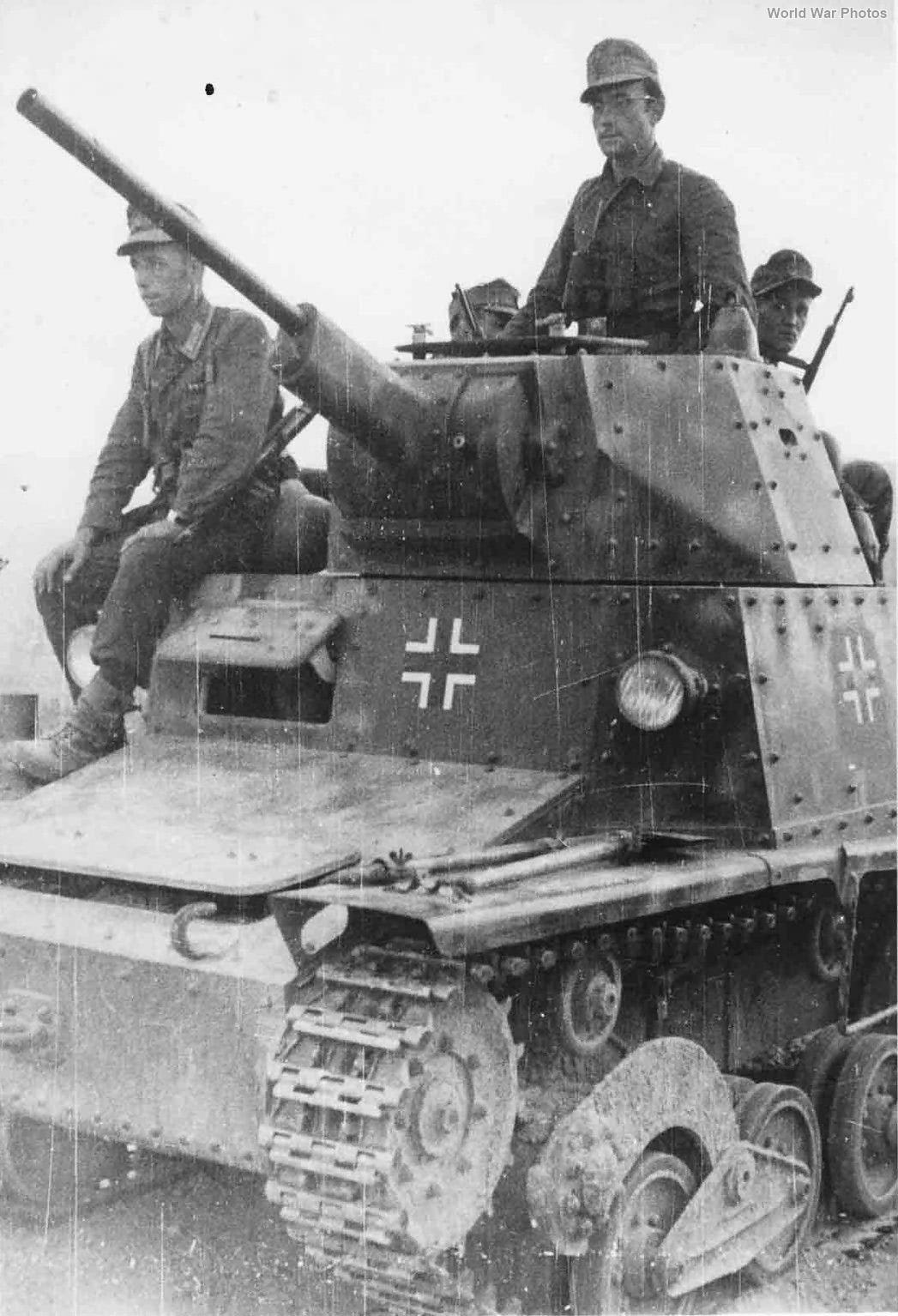 German L6/40 Albania September 1943