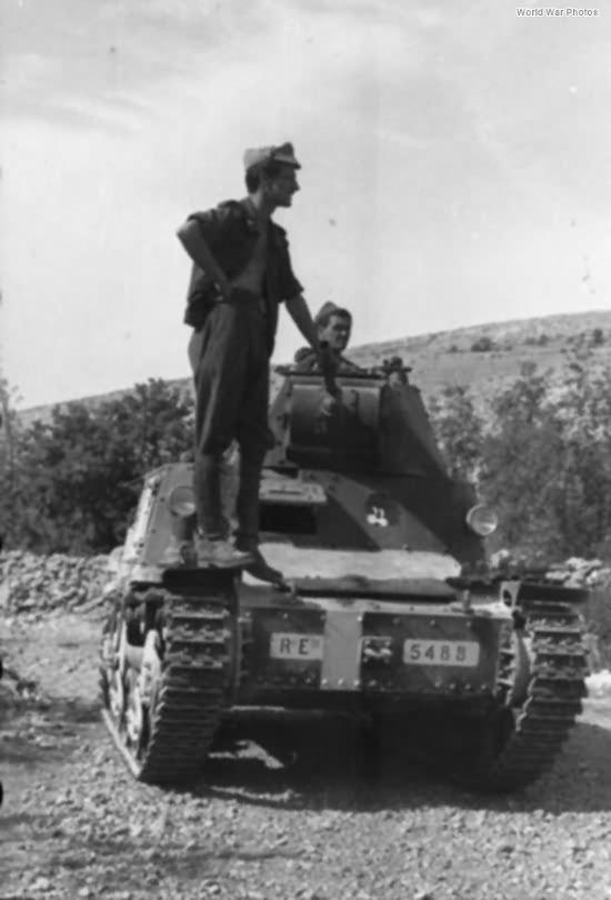 L6/40 Dalmatia 1943