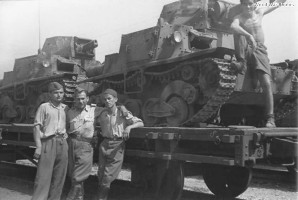 L6/40 Slovenia 1945