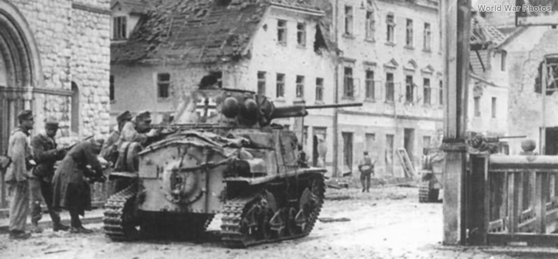 PzKpfw L6 733(i) of the Polizei-Regiment 14, Slovenia