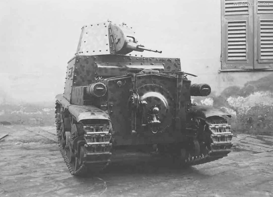 Carro cannone modello 36 3