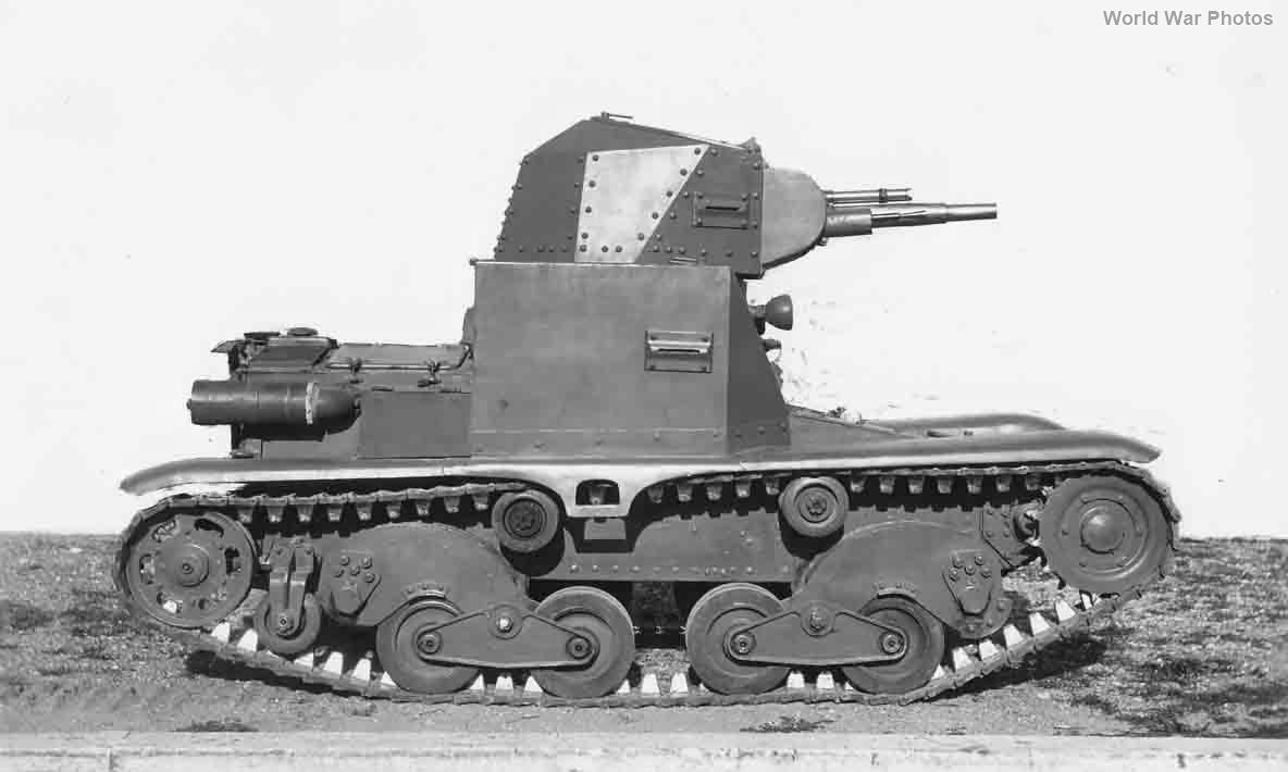 Carro d' assalto modello 36