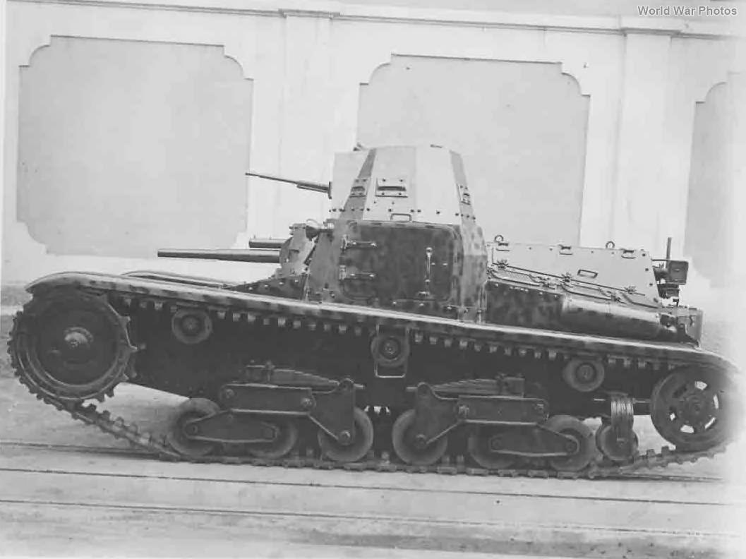 Tank Ansaldo 10t Carro di Rottura side