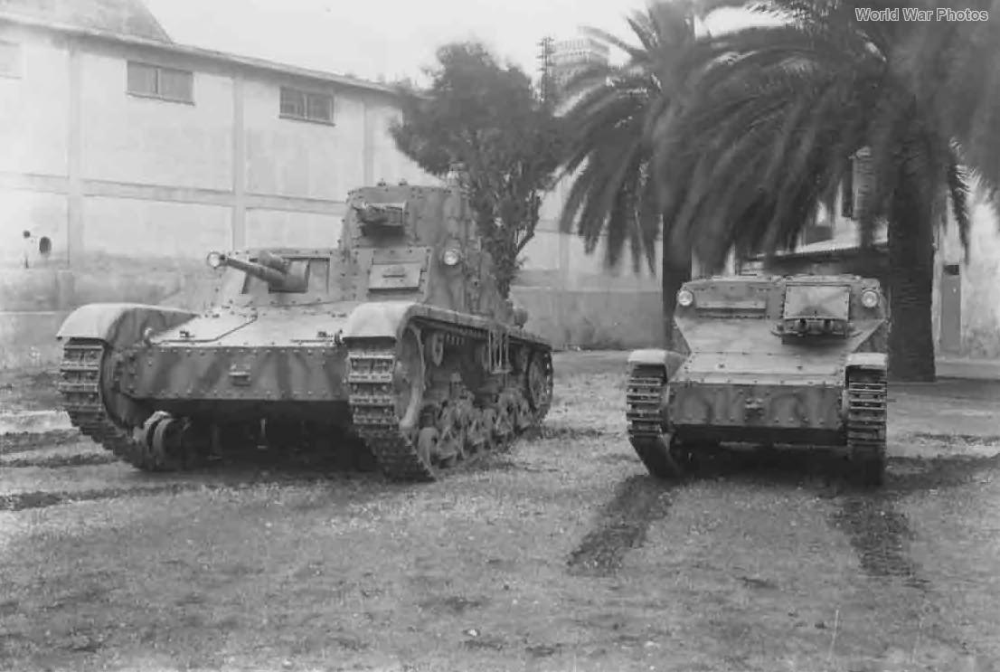 Carro Armato M11/39 and L3/33