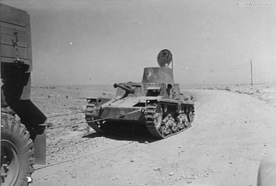 Captured M11/39 near Fort Pilastrino