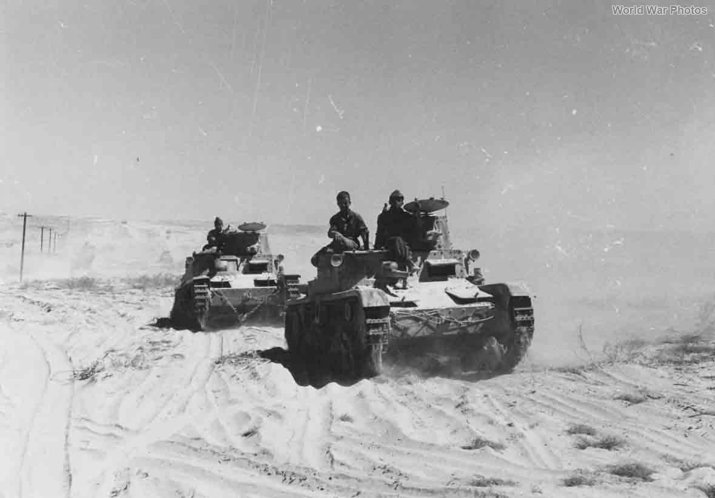 M11/39 tanks near Sidi Barrani September 1940
