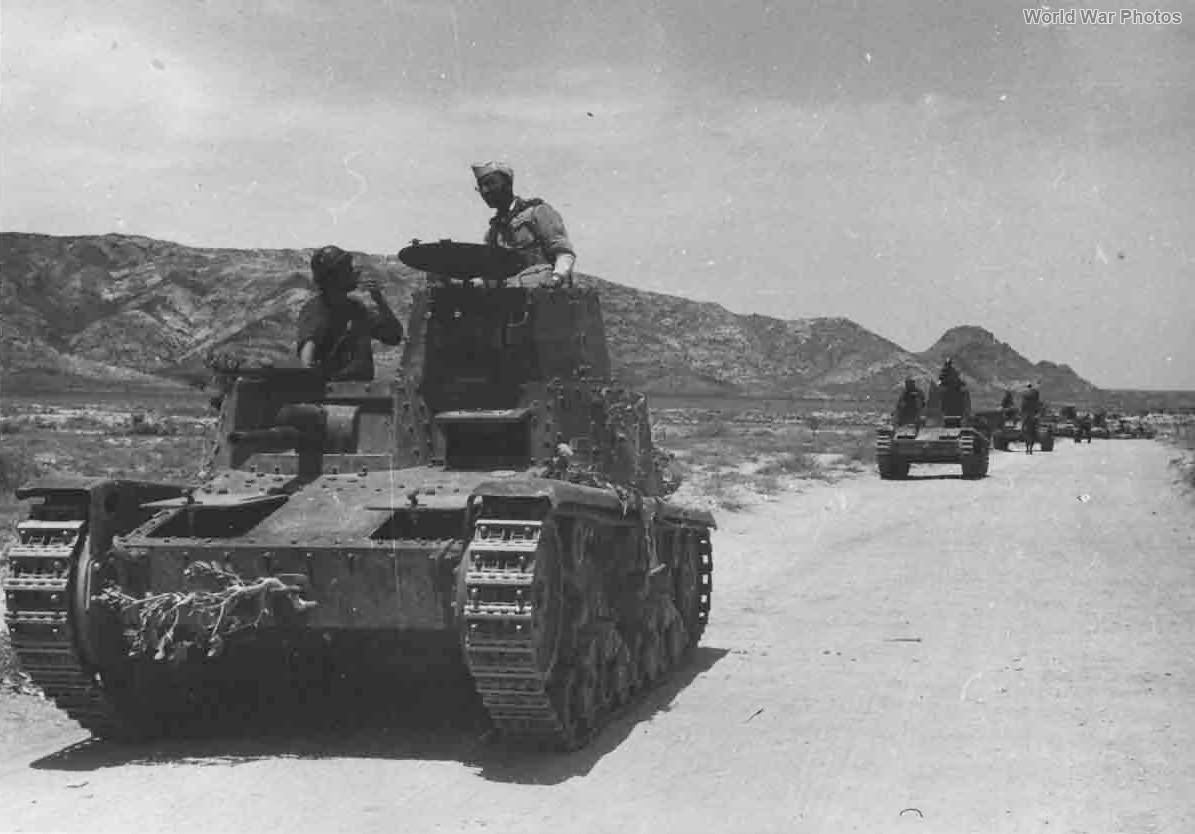 M11/39 British Somaliland 1940