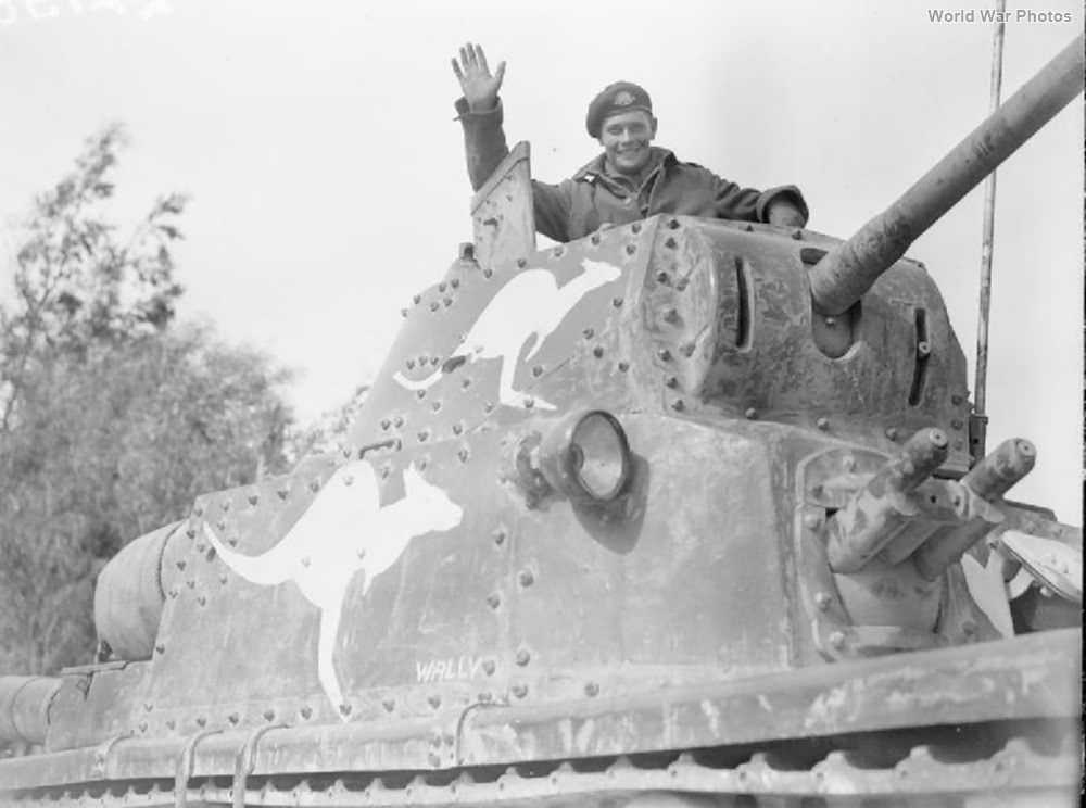 Australian M13/40 Libya March 1943