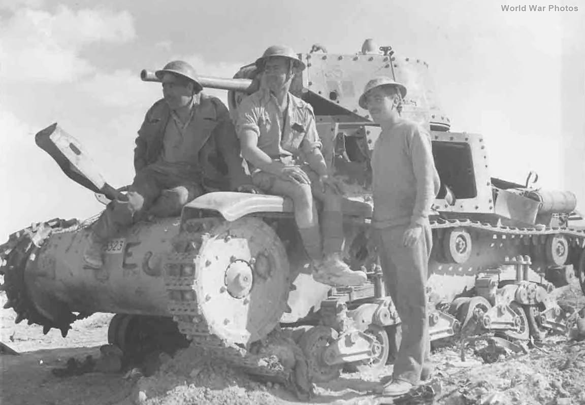 Destroyed M13/40