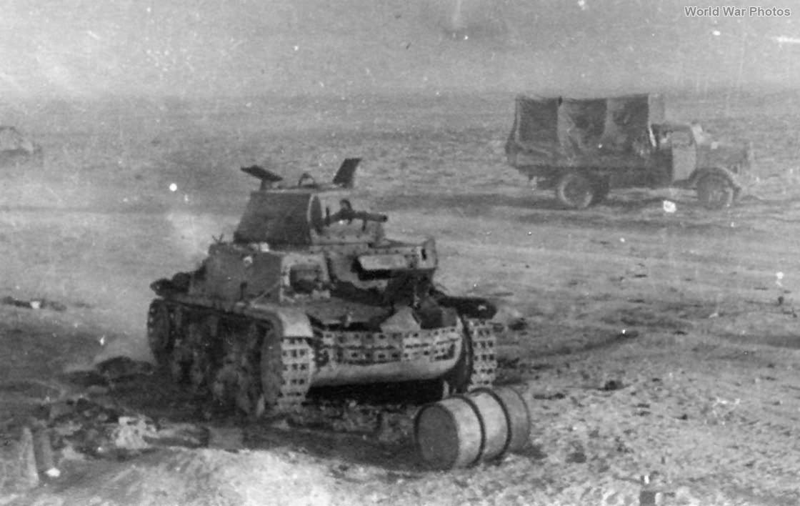 Destroyed M13/40 4