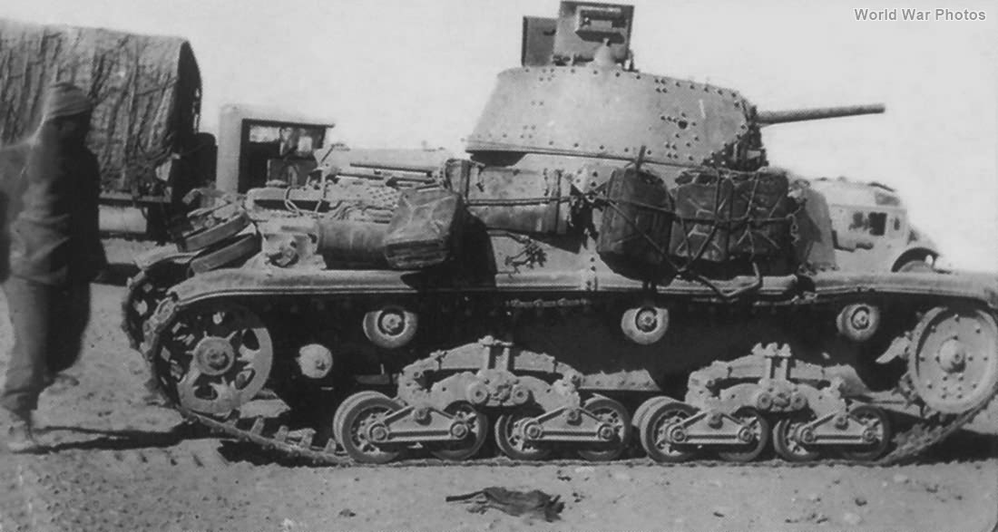 M13/40 of 131st Armoured Division Centauro