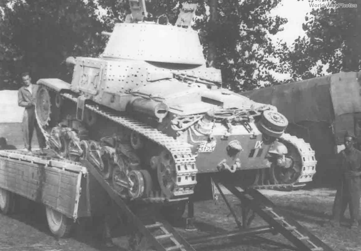M13/40 3123 IX Battaglione Carri