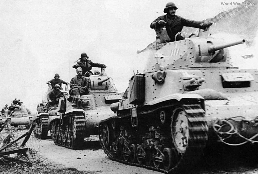 M13/40 tanks 1941/42