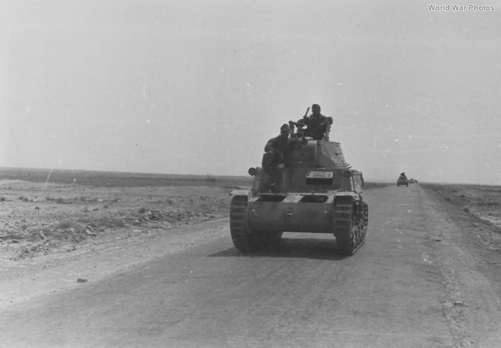 M13/40 132nd Armoured Division Ariete 2
