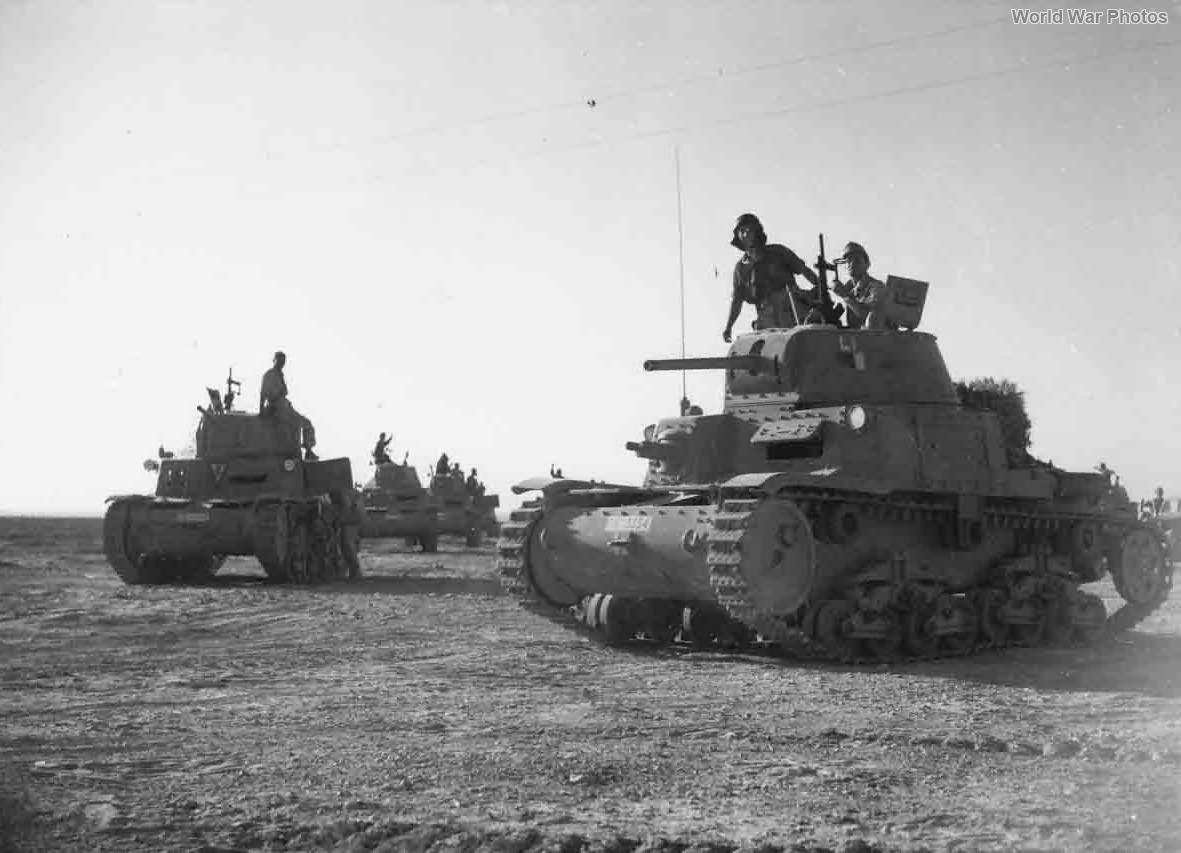 M13/40 133rd Armoured Division Littorio 2