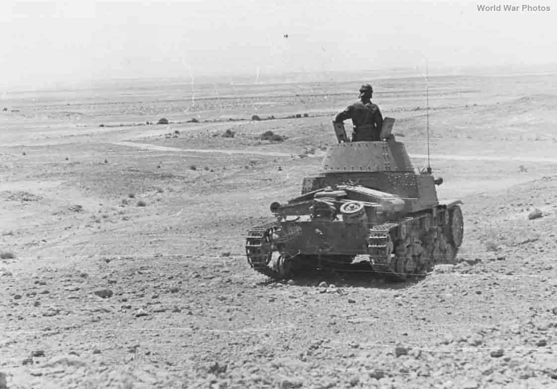 M13/40 of the Division Ariete