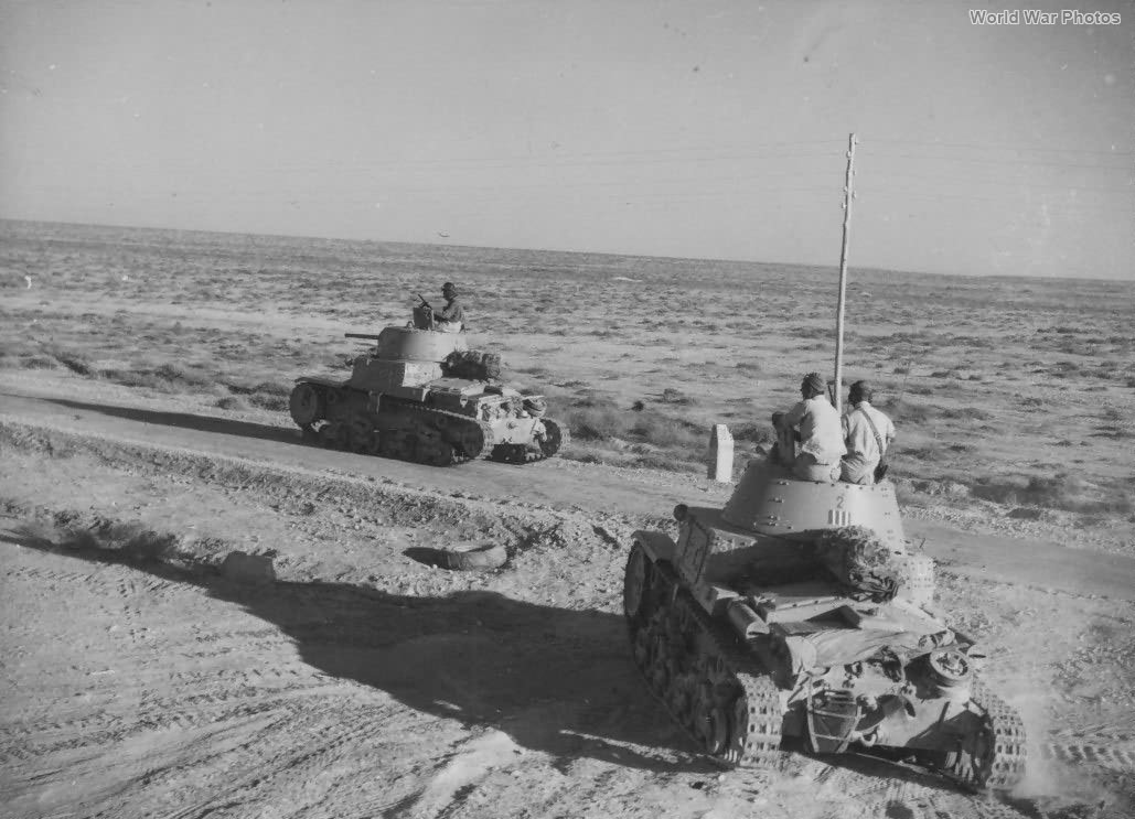 M13/40 Division Littorio Libya