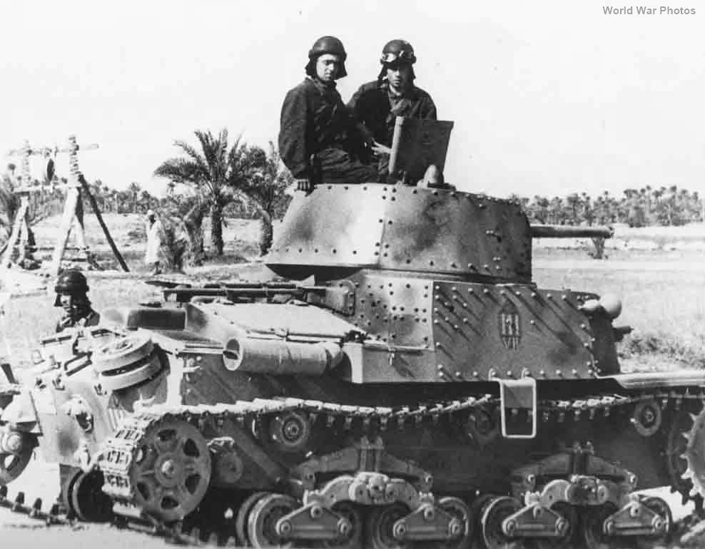 M13/40 II Serie 1942