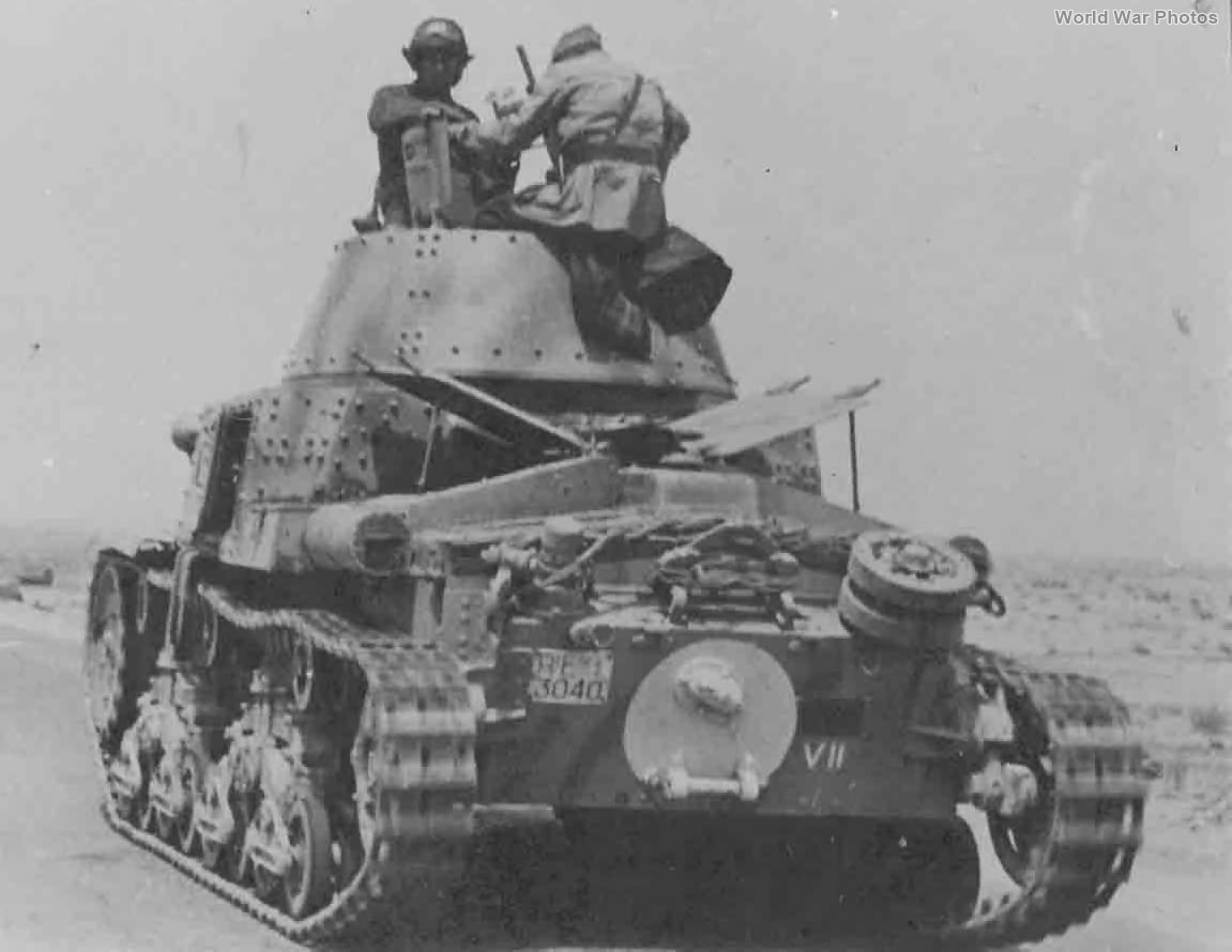 M13/40 II Serie Division Littorio Libya 1942