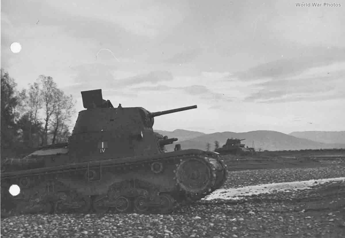 M13/40 from IV Battaglione carri