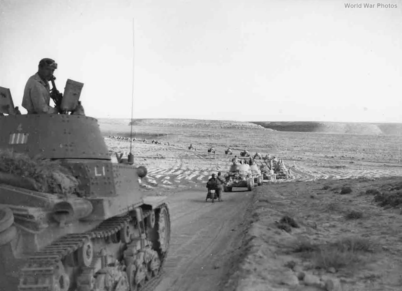 M13/40 of the LI Battaglione Carri Littorio 1942