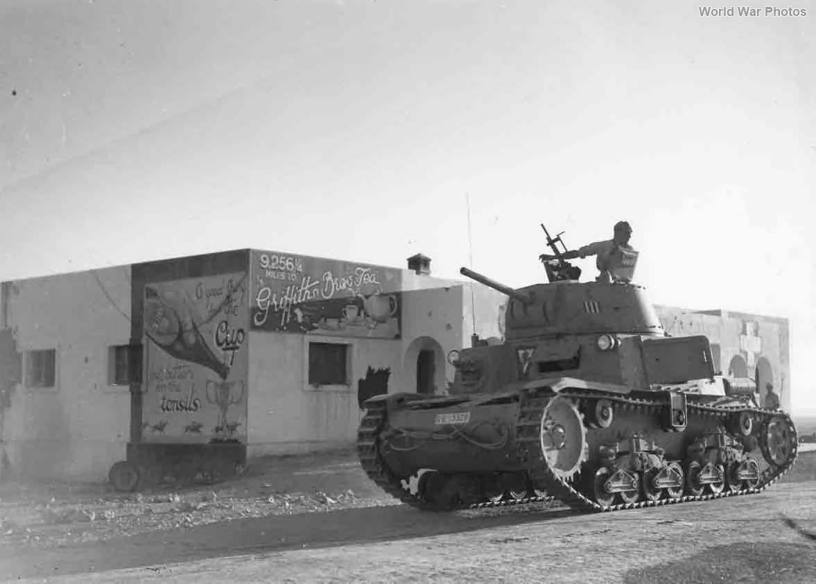 M13/40 of the 133rd Armoured Division Littorio 1942