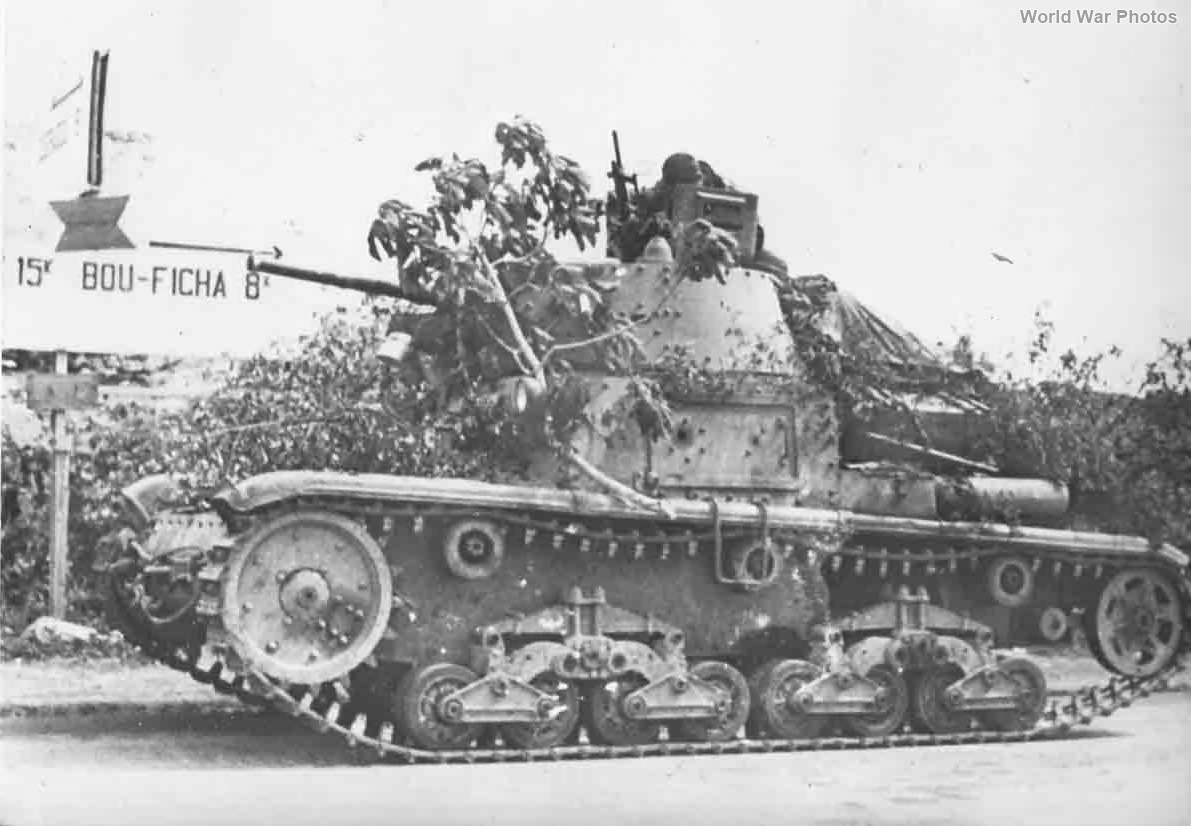 M13/40 Tunisia '43 2