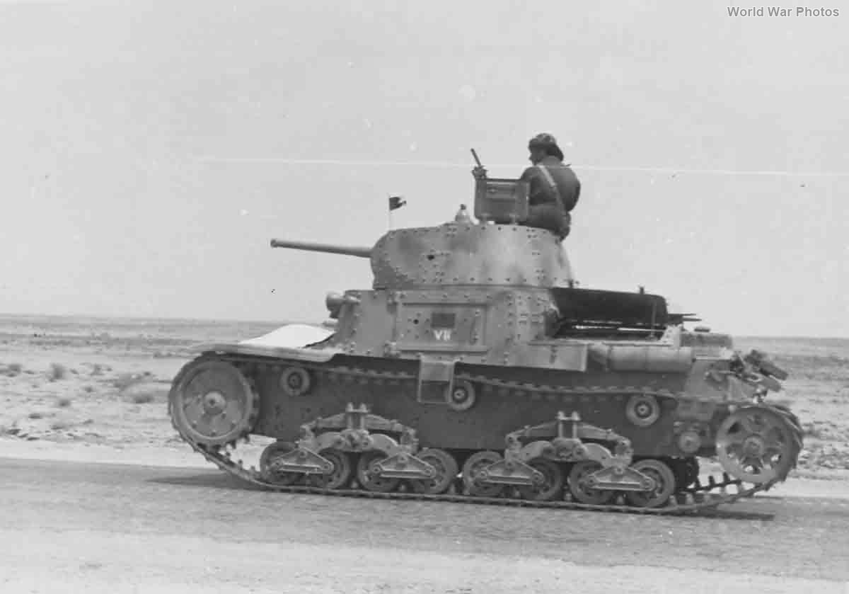 M13/40 of the VII Battaglione carri Africa