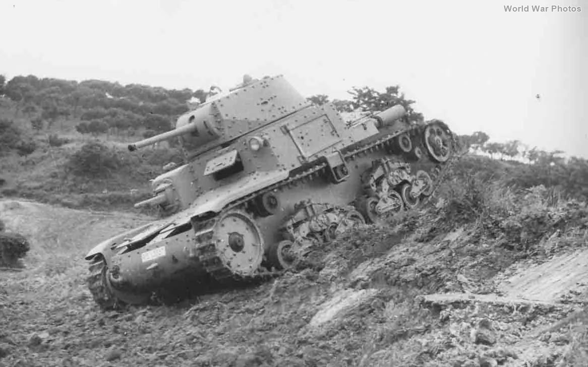 M13/40 during trials