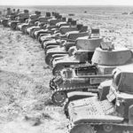 Captured M13 40 tanks