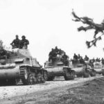 Column of M13/40 tanks 1943 2