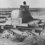 M13 40 in the North African desert