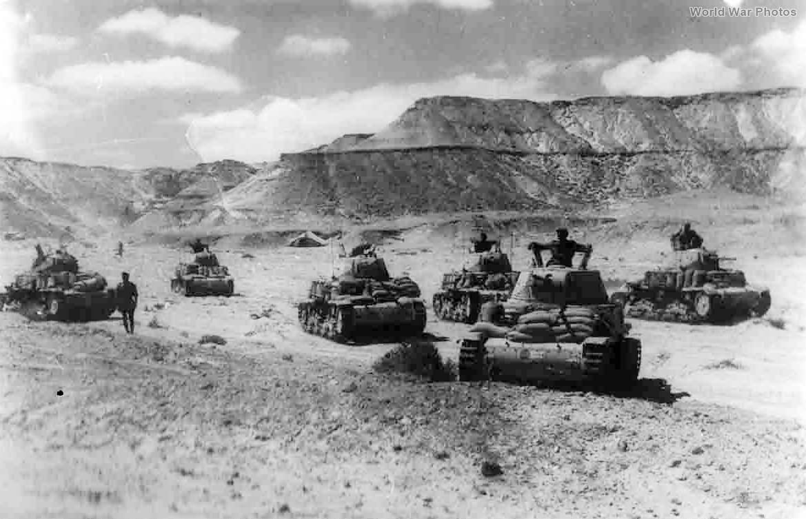 M14/41 of 133° Divisione Corazzata Littorio