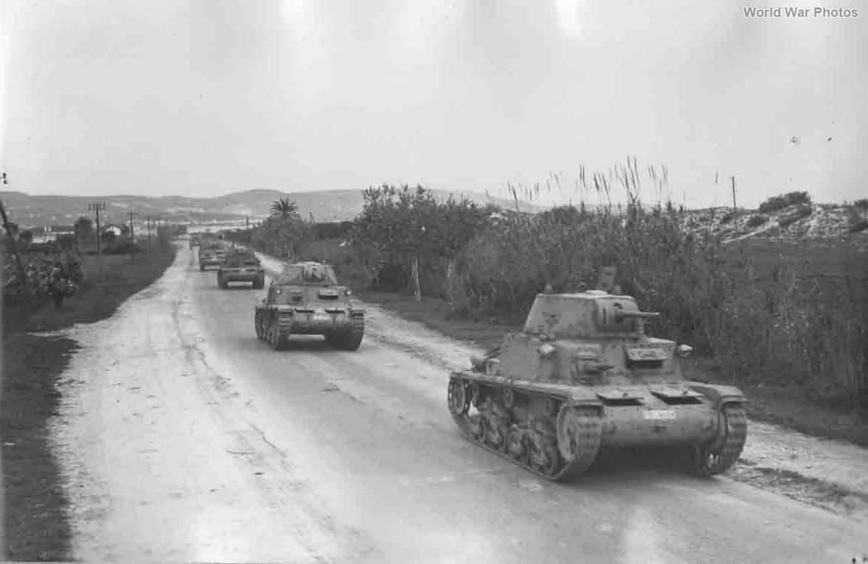 Carro Armato M14/41 Tunisia