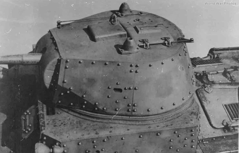 M15/42 turret 1943